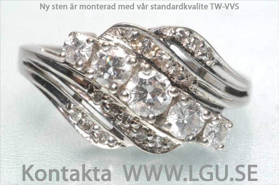 3 65ct diamant ring